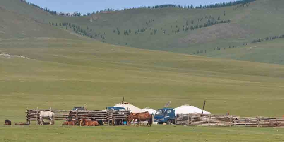 MTB-Bikereise Mongolei