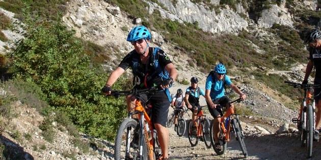 Geführte Mountainbikereise durch die Berge Zentral-Albaniens