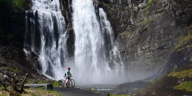 Radreisen Norwegen