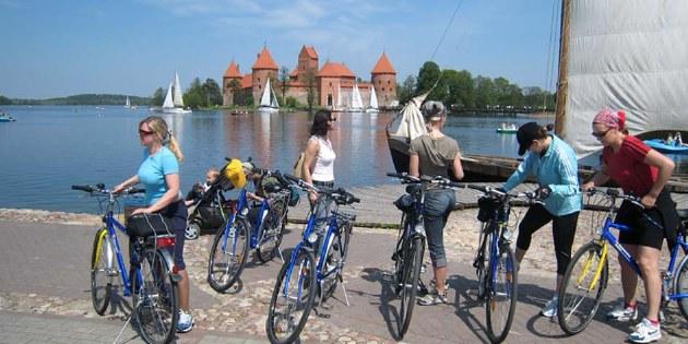 Radurlaub in Estland, Lettland und Litauen