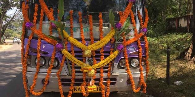 Radreise Indien Bangalore-Goa