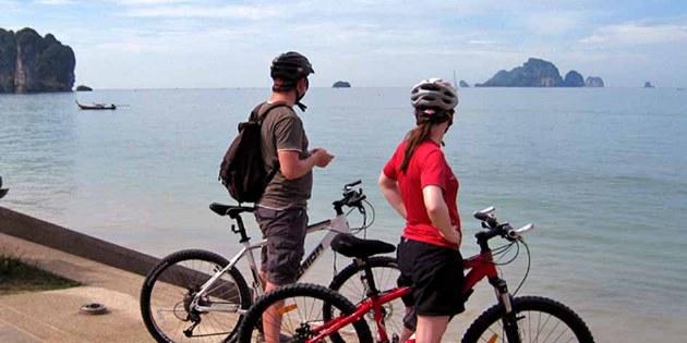 Radreise Südthailand