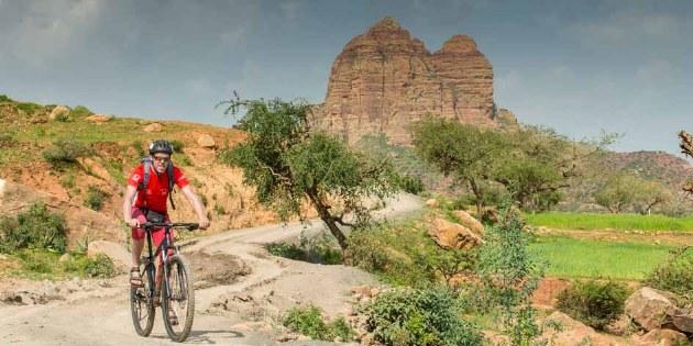 Fahrradreisen durch Äthiopien