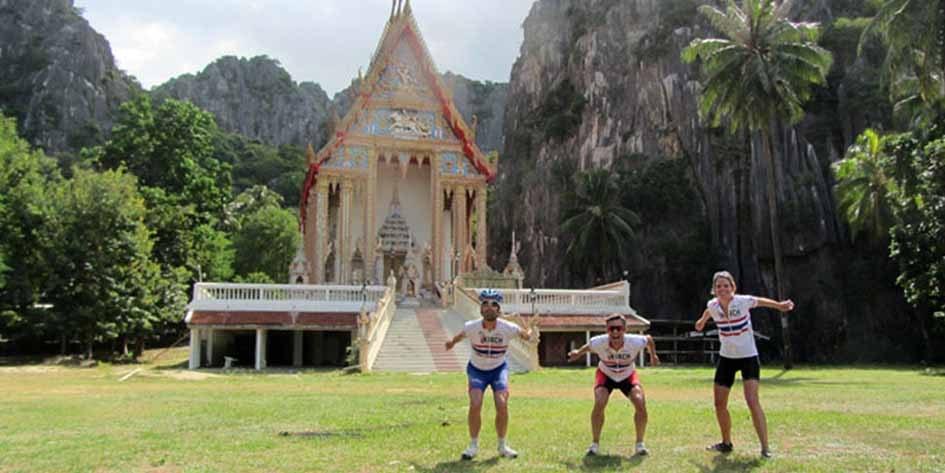 Rennradreise Thailand Bangkok-Phuket