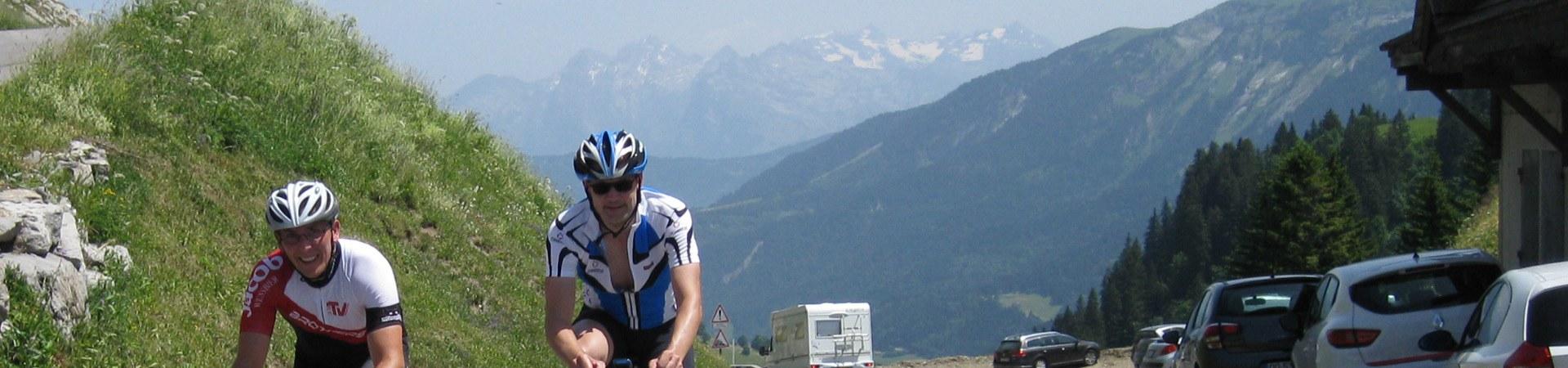 Rennrad Vom Genfer See zum Mittelmeer (Route des Grandes Alpes)