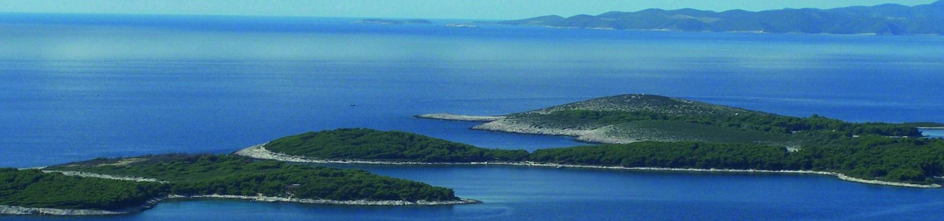 Radreise durch die süddalmatinische Inselwelt