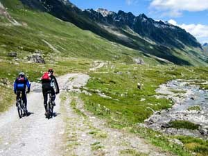 Alpencross Mountainbike-Reise