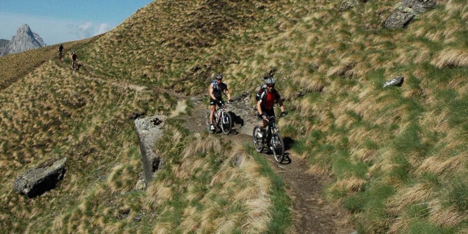 Mountainbike-Reise Dolomiten