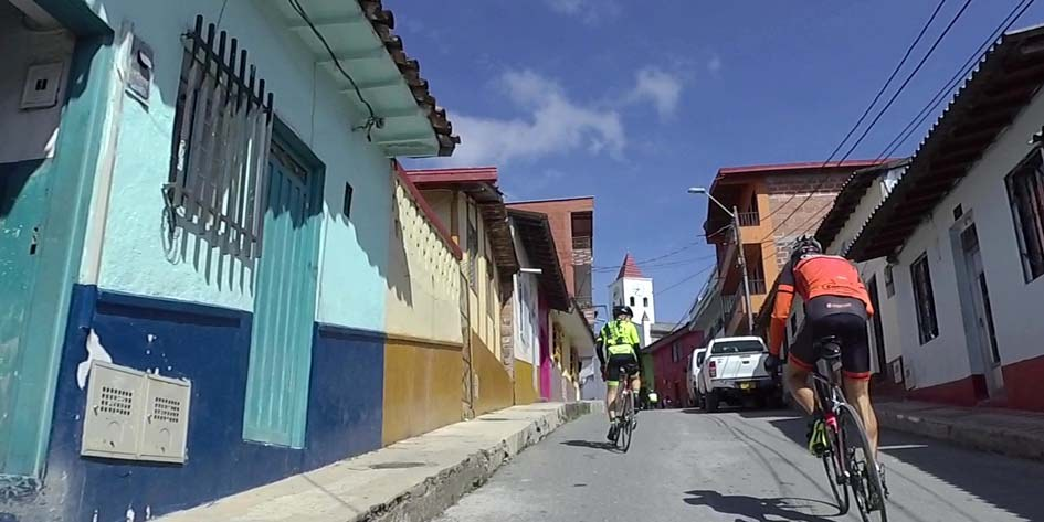 Geführte Rennradtouren in Kolumbien