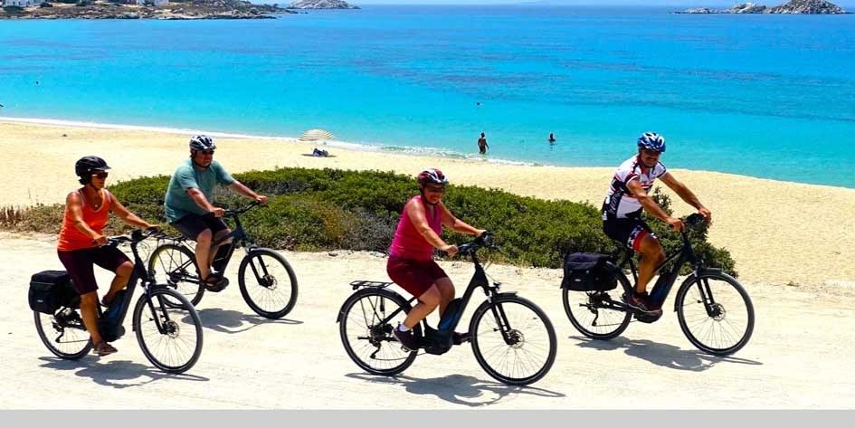 E-Bike Reise Kykladen