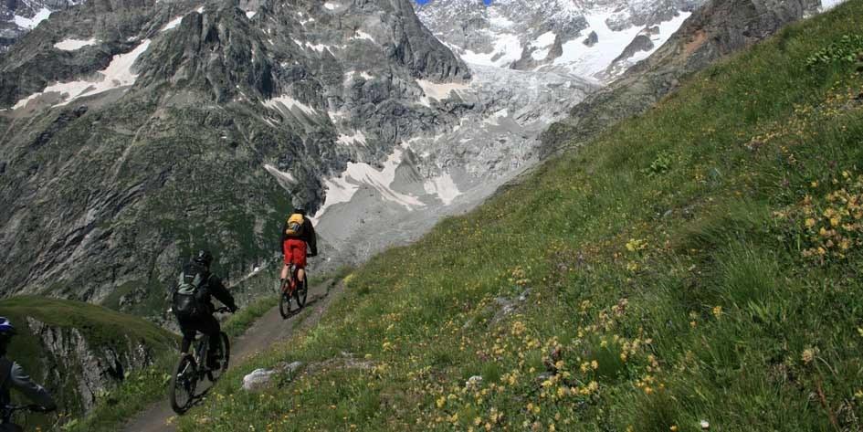 Mountainbike-Reise Mont Blanc
