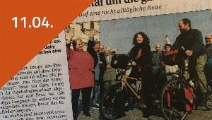 Blogbeitrag zur Fahrradweltreise